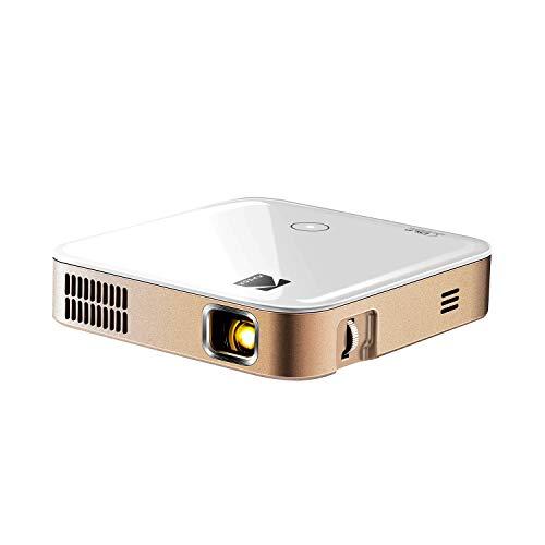 KODAK Luma 350 Proiettore Smart Mobile Potente videoproiettore Ultra HD Ricaricabile con/Android 6.0 Applicazioni di Streaming, Wi-Fi e Cristallino Fino a 200 Pollici