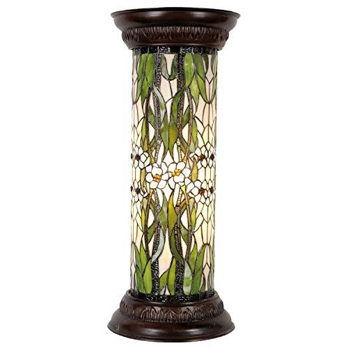 la Casa di Tiffany 5ll-5539 Lampada da Tavolo, Verde