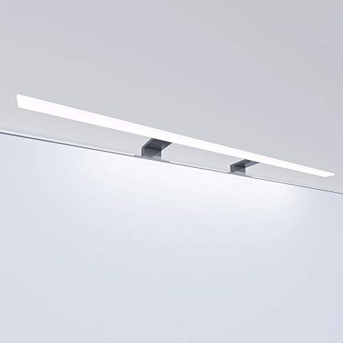 Lampada a LED da bagno Luce da bagno Lampada per specchio Illuminazione per specchio Lampada per armadi Lampada a sospensione, lunghezza: 800 mm, colore della luce: bianco caldo