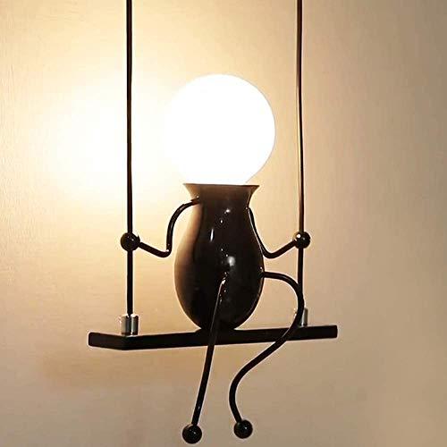 Lampada da Parete,Luci da parete,E27 Swing Bambini Lampada Comodino,Camera da Letto Applique Luce Adatto a Camere da letto Soggiorno Corridoio