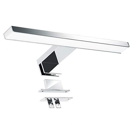 Lampada da Specchio a LED, 3 in 1 Infankey Luce Specchio Bagno 30CM 5W 220V 400LM 4000K, Bianco Neutro, IP44 Impermeabile per Specchio/Mobile/Parete [Classe di efficienza energetica A +]
