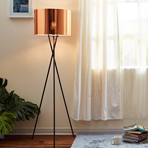 Lampada da terra LED illuminazione moderna treppiede rame VersanoraVN-L00002