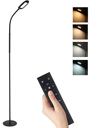 Lampada da terra, Tomshine 126 LED Lampada da Pavimento Lampada a Stelo in LED, per Soggiorno, Camera da letto e altre stanze [Classe di efficienza energetica A+]
