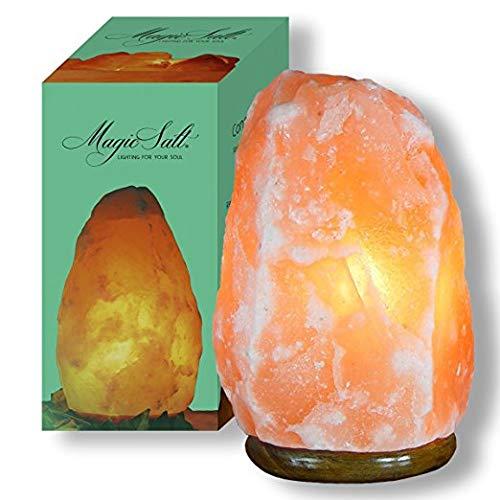 Lampada di sale dell Himalaya Magic Salt® Lighting for Your Soul – (4-6 kg scatola cerigraphed)