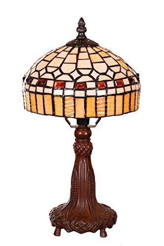 Lampada in stile Tiffany a forma di libellula, elegante lampada decorativa in stile Tiffany, lampada da tavolo, lampada da tavolo (Tiff 145)