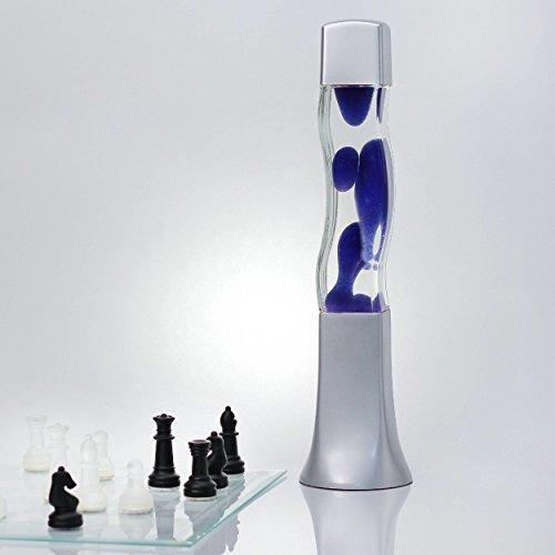 Lampada lava blu 41cm E14 25W con cavo di commutazione idea regalo di Natale tra cui lampada retrò lampadina [classe energetica E]