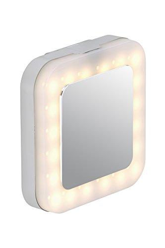 Lampada LED per specchio, Lampada da bagno, 1x 4,5W, cromo, nicht schwenkbar 4.5 watts