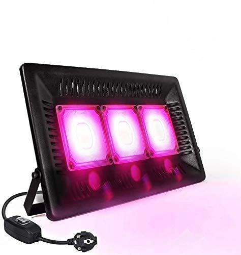 Lampada per Piante 150W Relassy COB LED Lampada per Piante a Spettro Completo Luce Piante IP67 Impermeabile Coltiva per Piante da Interno, Esterno, Serra, Idroponica