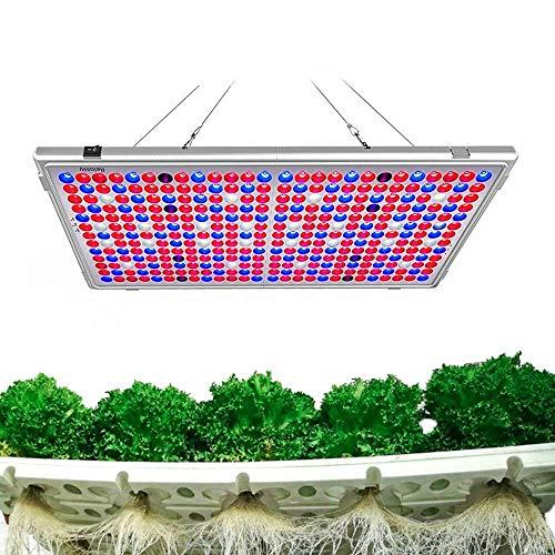 Lampada per Piante, Relassy Luci per Piante, 300W Lampade da Coltivazione Indoor con 338 LEDs Spettro Completo per Piante Interno (M-300)