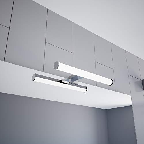 Lampada per specchio a LED 300 mm Lampada a sospensione 230V Lampada Bagno cromata, selezione: 300 mm, bianco neutro