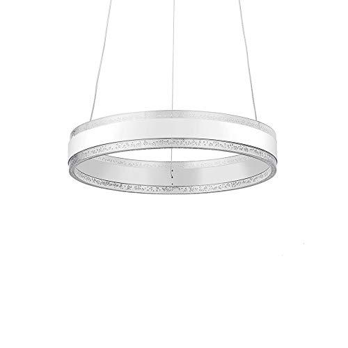Lampadario a Sospensione Plafoniera LED - Moderna Lampadario, 36W, 3000K-6000K, Dimmerabile con Telecomando