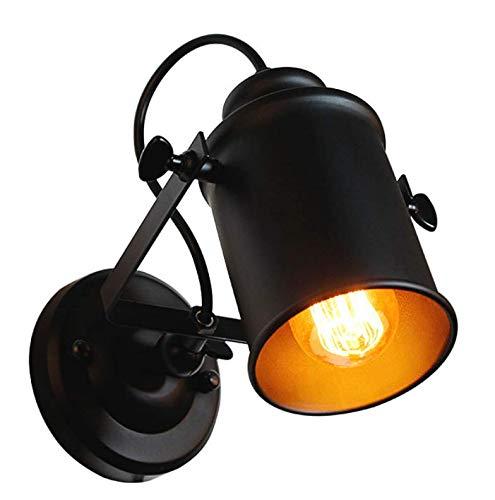 Lampade da parete per interni, lampada vintage industriale, lampade a sospensione decorative su braccio con braccio girevole