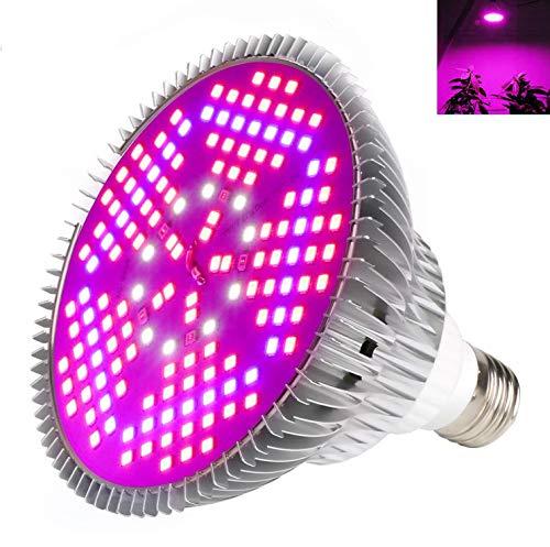 Lampade per Piante Crescita E27 100W 150leds Grow Light Faretto per Crescita Coltivazione Piante Interno Full Spectrum