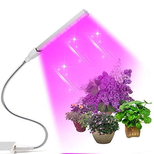 Lampade per Piante, Pianta a LED Grow Light Strip, Crescere luci per piante da appartamento, Coltiva la lampada per Hydroponics Serra biologica, Luci per piante di Veg Semina crescente e fioritura
