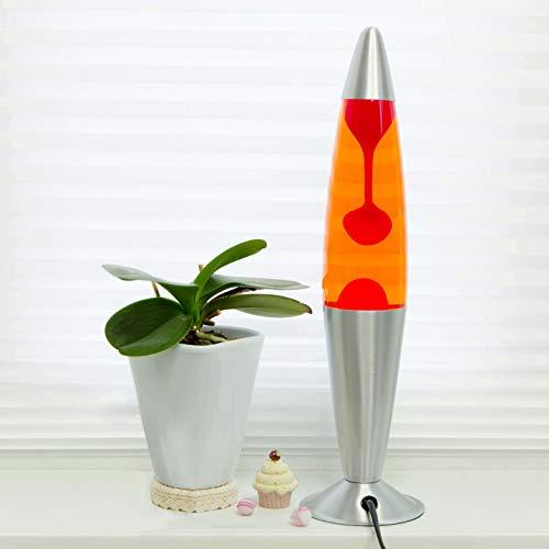 Lava lampada Jenny Arancione Rosso