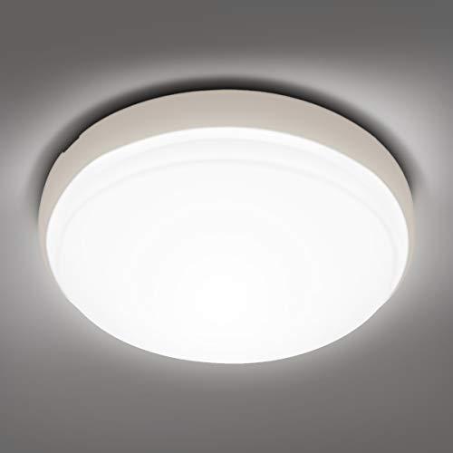 LE 24W Plafoniera LED, Lampada da Soffitto LED Bianco Naturale 4000K, Equivalente a 200W, 2200 lumen, Impermeabile IP54, Luce da Soffitto per Cucina Sala Camera da letto Soggiorno Bagno