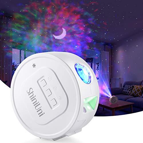 LED Proiettore Cielo Stellato Lampada,5 Effetti Di Luce Rotante Cielo Proiettore Di Luce Lunare Per Arredamento Camera Dei Bambini E Decorazioni Per Feste