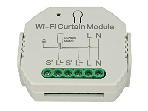 LEDLUX SH108 Modulo Tapparelle WIFI Interruttore Smart Switch 220V 2A Per Tende Persiane Tapparelle Elettriche Con APP TUYA Smart Life Compatibile Con Alexa e Google Home