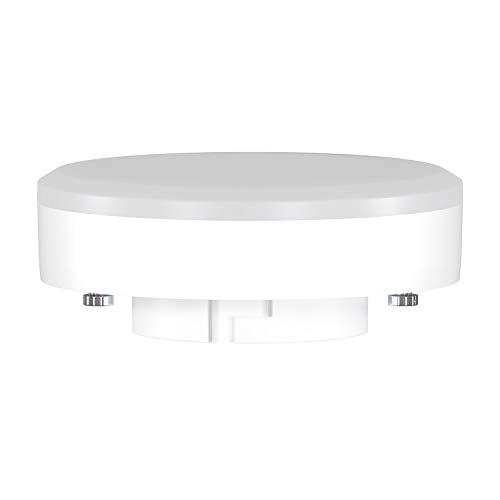 ledscom.de GX53 LED Lampadina 10W=74W 1000lm 2700K 120° Strahler bianca calda