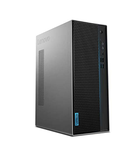 Lenovo IdeaCentre T540 Gaming - Computer desktop, processore AMD Ryzen 5 3600, 256 GB SSD, 8 GB di RAM, scheda grafica NVIDIA GeForce GTX 1650 4 GB GDDR5, tastiera e mouse USB, colore: grigio