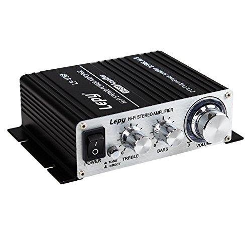 Lepy LP-V3s piccolo amplificatore HIFI per auto,PC, casa ,iphone+ Alimentatore 5A EU