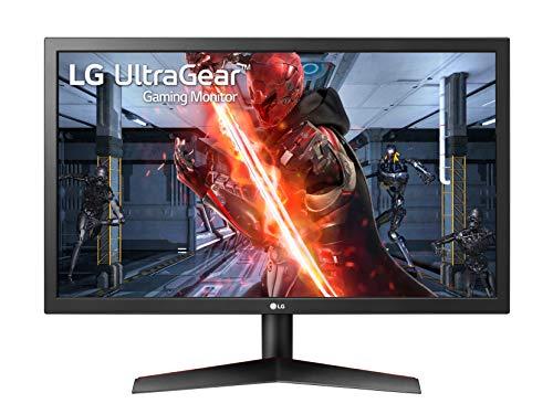 "LG 24GL600F UltraGear Monitor Gaming 23.6"" Full HD LED, 1920 x 1080, 1 ms, Radeon FreeSync 144 Hz, Contrasto Dinamico 5 M, 2 x HDMI, 1 x Display Port, Uscita Audio, Multitasking"