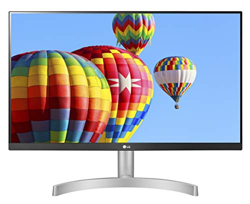 "LG 24ML600S Monitor 24"" FULL HD LED IPS, 1920x1080, 1ms MBR, AMD FreeSync 75Hz, Audio Stereo 10W, HDMI (HDCP 1.4), VGA, Uscita Audio, Flicker Safe, Bianco"