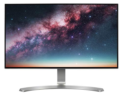 "LG 24MP88HM Monitor 24"" FULL HD LED IPS, 1920x1080, 5ms, AMD FreeSync 75Hz, 2x HDMI, 1x VGA, Borderless, Argento, Flicker Safe, Bianco"