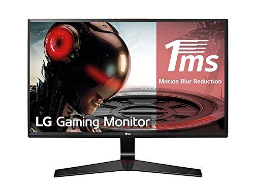 """LG 27MP59G Monitor Gaming 27"""" Full HD LED IPS, 1920 x 1080, Radeon FreeSync 75Hz, 1x VGA, 1x HDMI, 1x Display Port, Uscita Audio, Multitasking, Nero"""