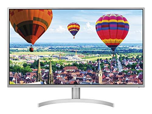 "LG 32QK500 Monitor 32"" Quad HD IPS, 2560 x 1440, Radeon FreeSync 75Hz, 2x HDMI, 1x Display Port, 1x Mini Display Port, Uscita Audio, Multitasking, Silver"