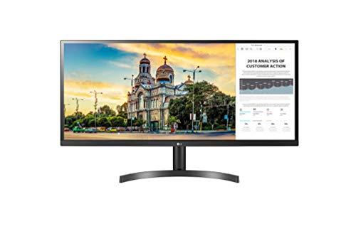 "LG 34WL50S Monitor 34"" UltraWide 21:9 LED IPS HDR, 2560x1080, AMD FreeSync 75Hz, Audio Stereo 10W, 2x HDMI (HDCP 2.2), Uscita Audio, Flicker Safe, Nero"