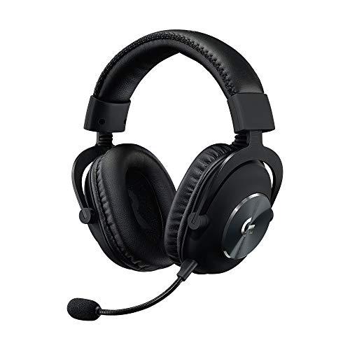 Logitech G PRO Gaming Headset Stereo Sound - Cuffia con Filli con Microfono per Gaming, con Driver Audio PRO-G da 50 mm, Alluminio, Acciaio e Memory Foam, Solo Cuffie, Nero
