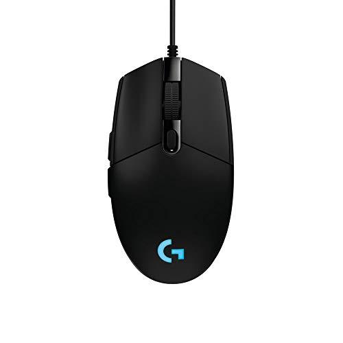 Logitech G102 Prodigy Mouse Gaming, 6000 DPI, RGB, Compatibile con PC e Mac, Nero