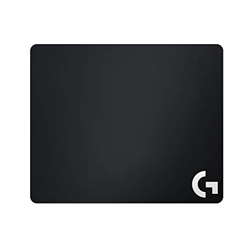 Logitech G240 Tappetino Mouse Gaming in Tessuto, 340 x 280 mm, Spessore 1 mm, per Mouse PC/Mac/Laptop, Nero