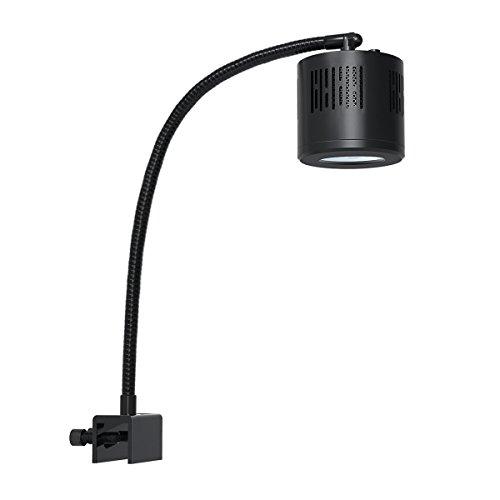 Lominie Luce per Acquario a LED, Luce per Serbatoio Piantata Ad Alta Luminosità Asta 120 Lampada a Morsetto per Acquario d'Acqua Dolce Refugium Alghe Fish Tank con Collo di Cigno (F120 Acqua Dolce)