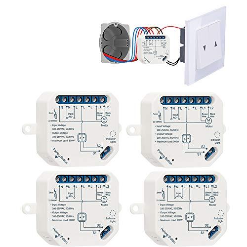 LoraTap - Interruttore intelligente WIFI per tapparelle elettriche, tende, persiane e tende da sole, timer temporizzatore per tapparelle (4)