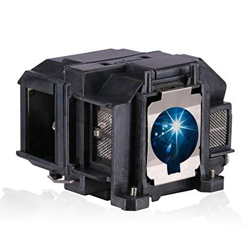Loutoc v13h010l67 - Lampada di ricambio per proiettore Epson ELPLP67 EB-S02 EB-S02H EH-TW480 EB-X12 EB-X11 EB-X02