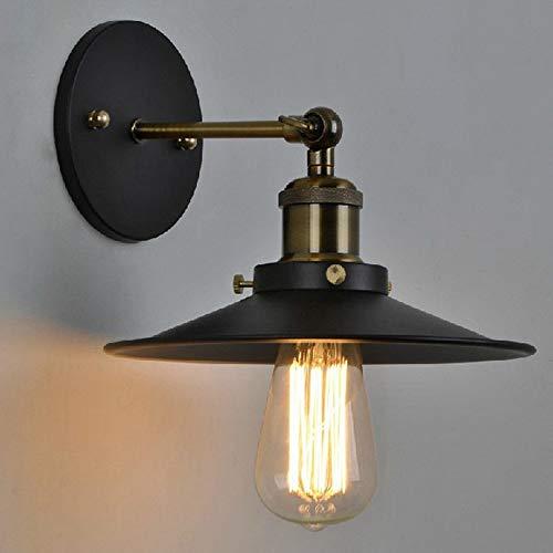 Louvra Lamapada Industriale Vintage Edison Retro E27 Applique da Parete Interni Lampadario per Soffito, Cucina, Soggiorno, Camera da Letto, Corridoio, Scale, Bar ecc (Senza Illuminante Incluso)