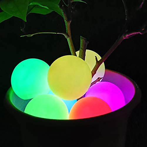 Luce LED per spa, IP68 Impermeabile Luce Galleggiante Piscina, Colore Cambiando Bagno Lampada Notturna Palla,Luce Sfera per bambini regalo feste,matrimonio,vasca calda,dentro e fuori casa Decor-1pcs