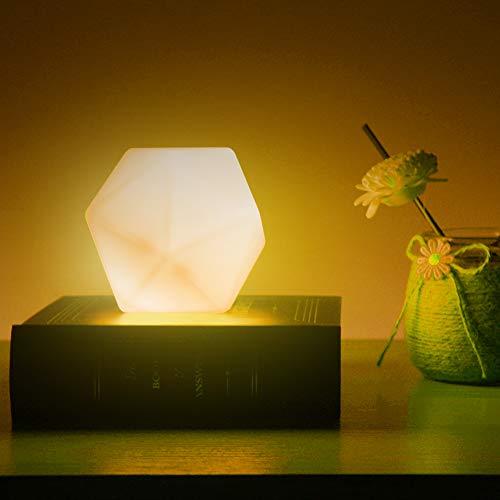 Luce Notturna Bambini, CNSUNWAY LED Lampada da Comodino per Bambini, con lampada per l'allattamento a 10 Colori, USB Ricaricabile Portatile Notturna Lampada per Bambini,Ragazzi,Cameretta Bambini
