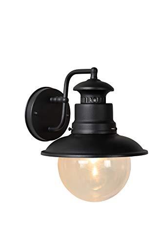 Lucide 11811/01/30 Figo - Lanterna da esterni IP44 E27 zincata 24 x 26,8 cm