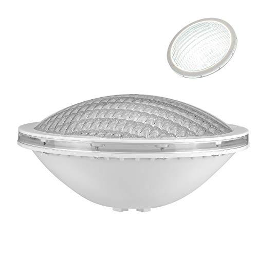 LyLmLe Luci Piscina PAR56 Fari LED per Piscine 18W Lampada Subacquea a led Illuminazione,Impermeabile IP68,12V DC/AC,6000K Bianco freddo