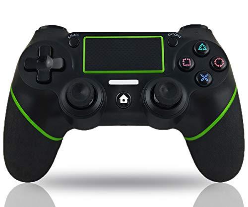 Maegoo Controller per PS4, Bluetooth Wireless PS4 Joystick Controller Gamepad Joypad per PS4 Slim/PS4 PRO con Doppia Vibrazione e 6-Axis Gyro Sensor, Touch Panel e Funzione Audio