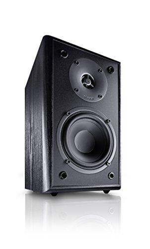 Magnat Monitor Supreme 102 - Altoparlanti, Colore: Nero, Confezione da 2