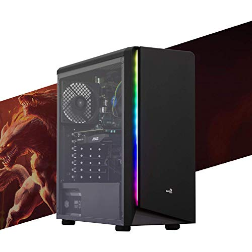 MAK ENTRY LEVEL 1.0 - PC Desktop Intel i3 10100,SSD NVMe 250 GB fino a 2.400 mb/sec,SCHEDA VIDEO GTX 1050 Ti 4Gb,RAM 16GB 2666MHZ, WIFI + BLUETOOTH INTEGRATO, COMPUTER DA GAMING,WINDOWS 10 PRO