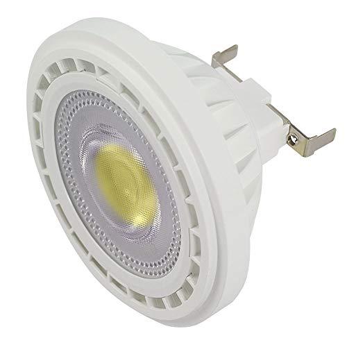 MENGS G53 AR111 - Faretto LED COB 12 W, ricambio per lampadine alogene da 95 W, luce bianca fredda, 6000 K, AC 85-265 V