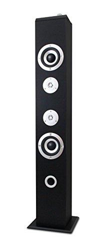 Metronic 477091- Colonna Bluetooth 160W, per telefono/tablet/pc/hard disk/chiavetta USB/Mp3,nero