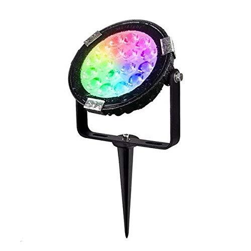 Mi-Light® FUTC02 - Faretto da giardino con picchetto LED 9 W RGB+CCT 2700 K-6500 K 220 V IP65