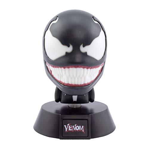 Mini lampada da comodino Marvel, Venom Icon Light, 10 cm