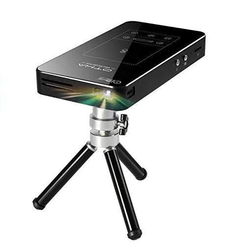 Mini Proiettore OTHA Proiettori Portatili, Touchpad Videoproiettore Portatile DLP 1080P HD con Android WIFi Bluetooth Pico Proiettore Tascabile Home Theater
